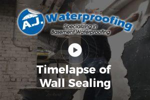 Timelapse of Wall Sealing