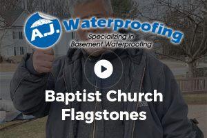 Baptist Church Flagstones