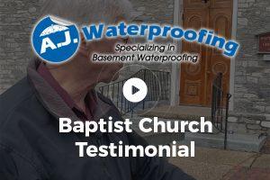 Baptist Church Testimonial