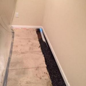 French Drain Installation 3