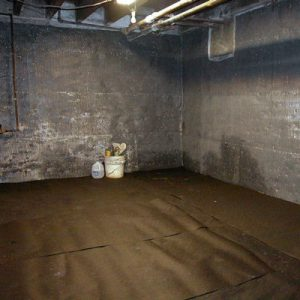 Basement Waterproofing Before 1