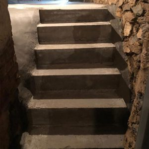 Staircase Waterproofing After 1